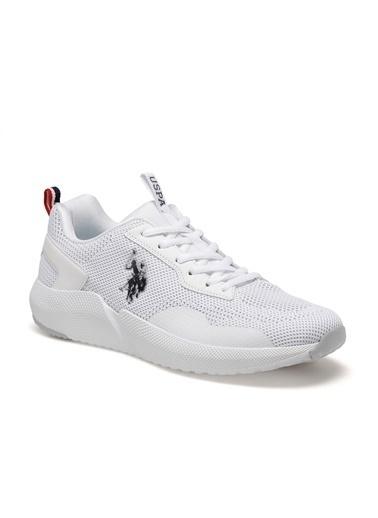 U.S. Polo Assn. Sam Erkek Sneaker Ayakkabı Beyaz